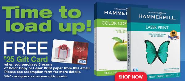 Free $25 Gift Card!