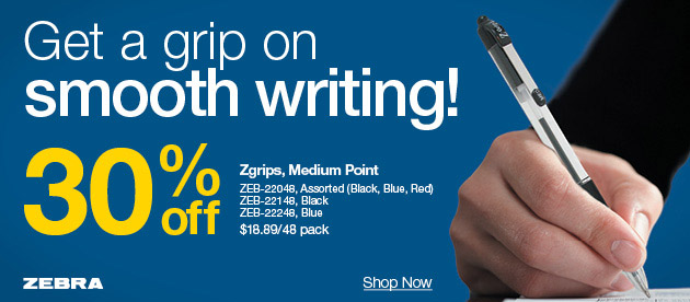 30% off pens & binders + deals on just about everything else on your list